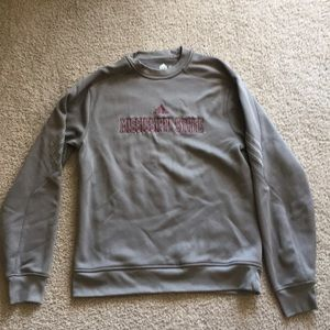 Mississippi State Pull Over Adidas Sweater